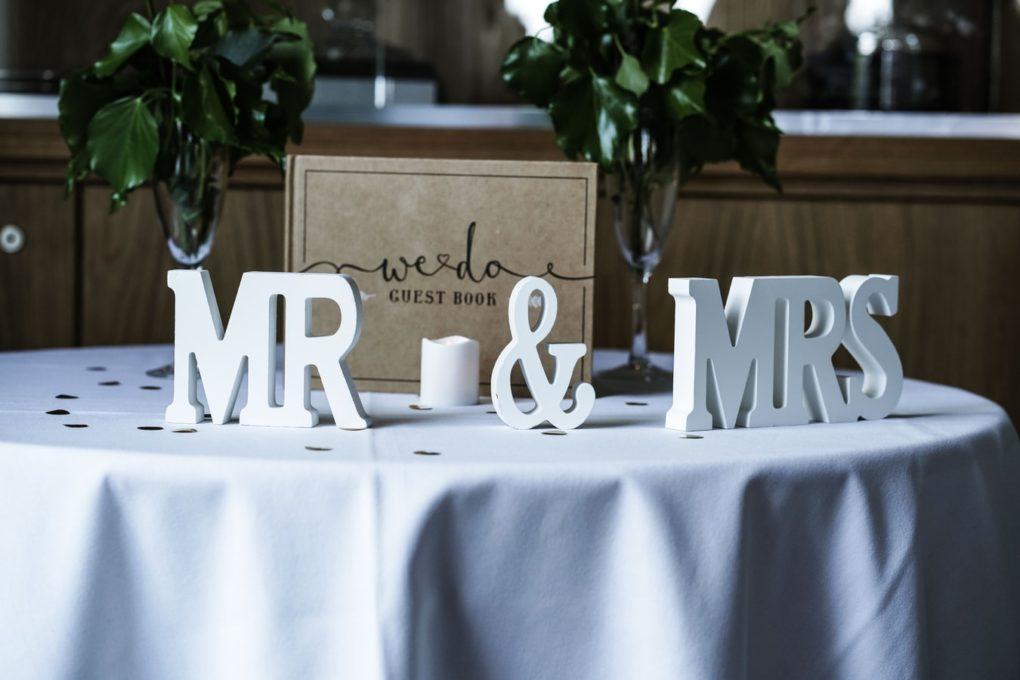 księga dla gości weselnych