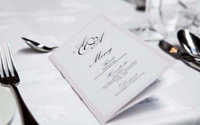 Przykładowe menu weselne na każdą porę roku
