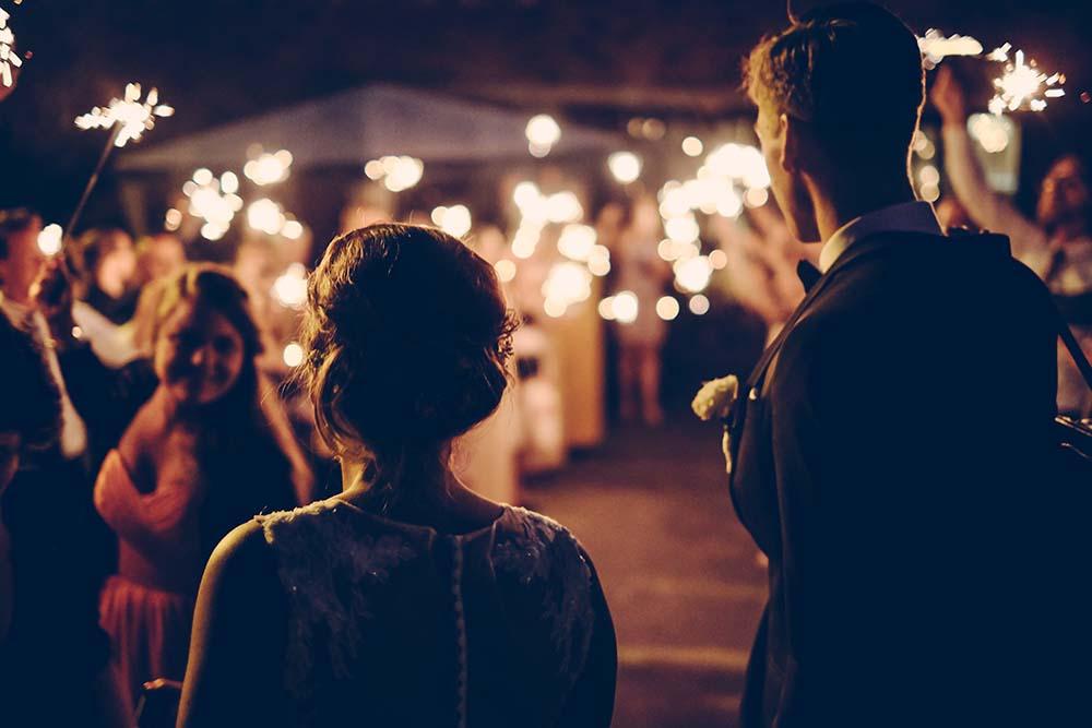 podziękowania dla gości weselnych za przybycie