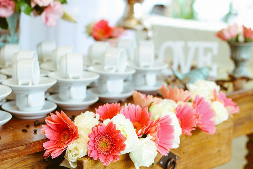 sztuczne kwiaty na wesele