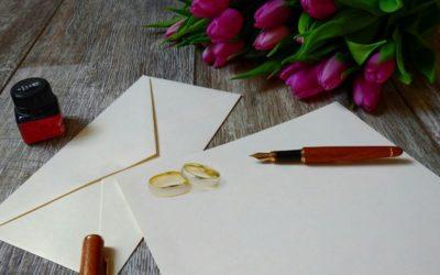 Najlepsze życzenia ślubne: Przykłady życzeń na kartkę ślubną